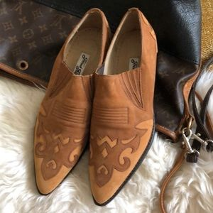French Follies Genuine Leather Cowboy boots NWOT